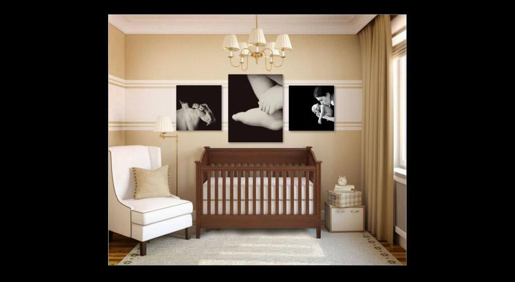 Nursery Room Wall Grouping