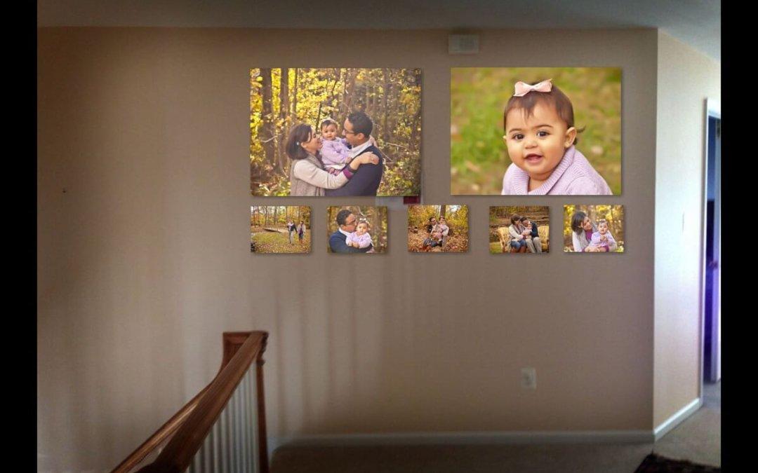 Newborn photographer | Tysons Corner VA | Professional photos | Decorating Your Home With Baby Wall Art