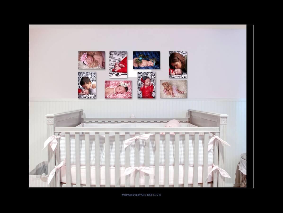 Nursery Newborn Wall Art
