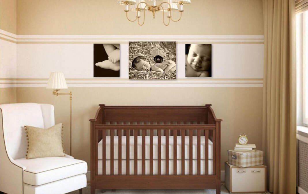 Best newborn photographer | Tysons Corner VA | Professional pictures | Sepia Wall Art Collection