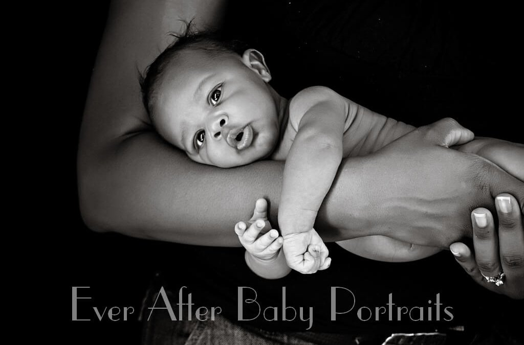 Newborn Photographer | Dulles VA	 | Portraits | Black and White Newborn Portraits