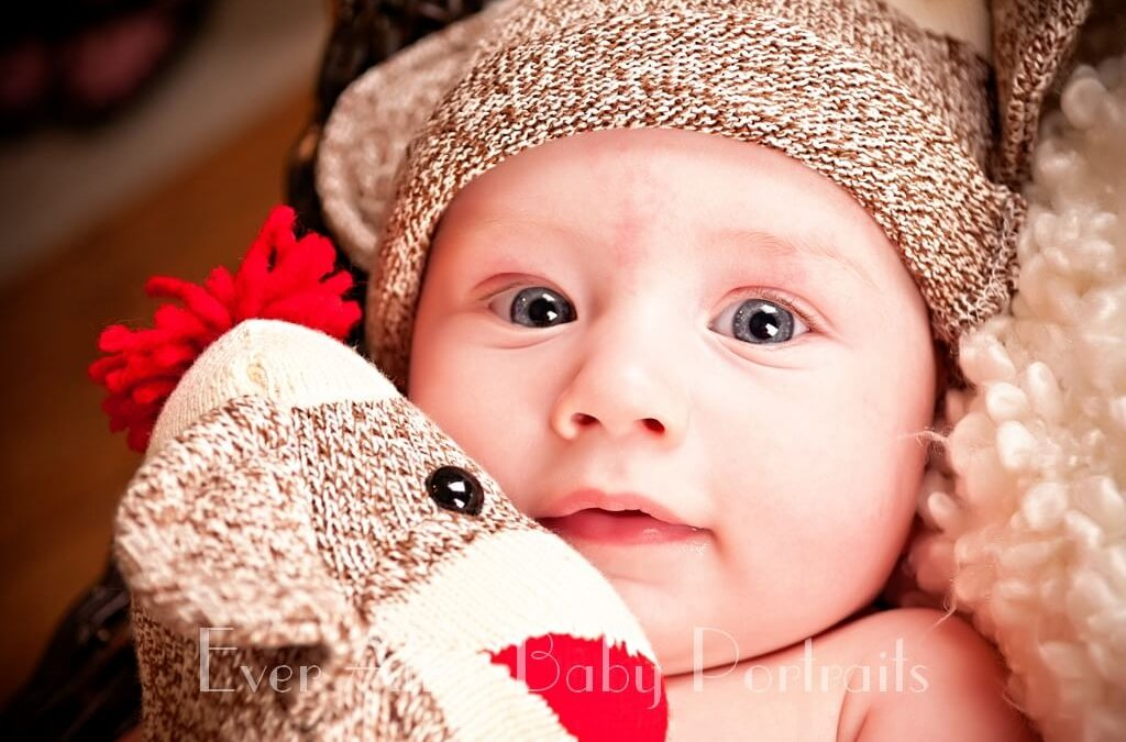 Pictures of babies | South Riding VA | Family pictures | Baby Portrait Session in the Studio, J.S.