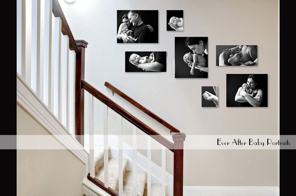 Turn your House into a Home with Family Wall Art! | Northern VA Newborn Photographer